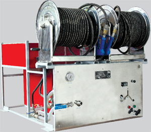 High Pressure Water Mist Fire Fighting System